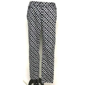 Brooks brothers black and white checkered pant